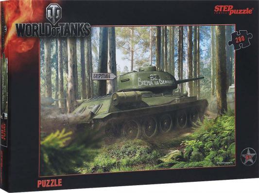 """где купить Пазл Step Puzzle """"World of Tanks"""" 260 элементов 95031 по лучшей цене"""
