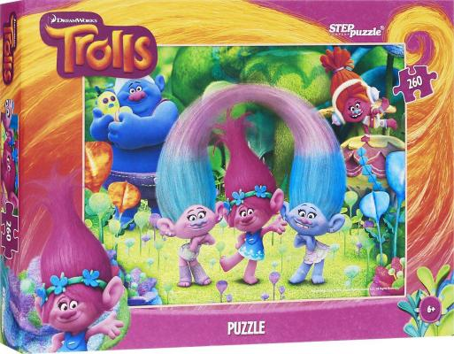 Пазл Step Puzzle Trolls 260 элементов 95053 step puzzle 560 trolls 97044