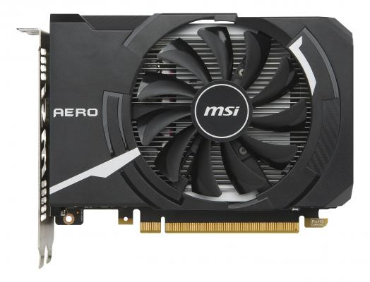 Видеокарта 2048Mb MSI GeForce GTX 1050 PCI-E 128bit GDDR5 DVI HDMI DP HDCP GTX 1050 AERO ITX 2G OC Retail maxsun ms gtx750 geforce gtx 750 2g gddr5 graphics card with hdmi vga dvi interface