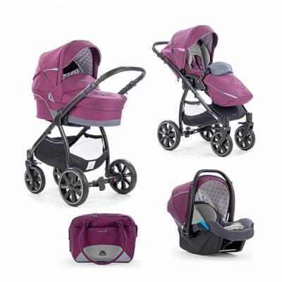 Коляска 3-в-1 Noordi Polaris Comfort (цвет italian plum) коляска noordi noordi коляска 3 в 1 polaris comfort shadow