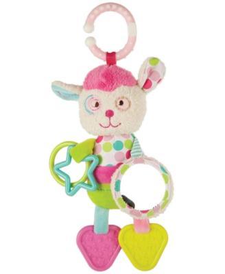 """Развивающая игрушка Жирафики подвеска с прорезывателями, погремушками и зеркальцем """"Милашка Пэнни"""" 939376 развивающая игрушка жирафики подвеска с погремушкой зеркальцем и мягкой игрушкой мишка вилли"""