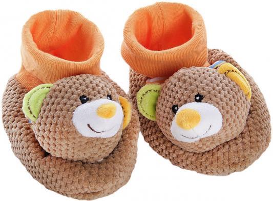 Тапочки-погремушки Жирафики Тапочки Мишки