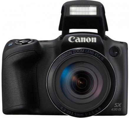 Фотоаппарат Canon PowerShot SX430 IS 20Mp 45xZoom черный 1790C002