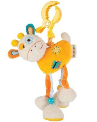 Развивающая игрушка Жирафики Подвеска с вибрацией Жирафик Дэнни 939363 жирафики развивающая игрушка подвеска бабочка муз