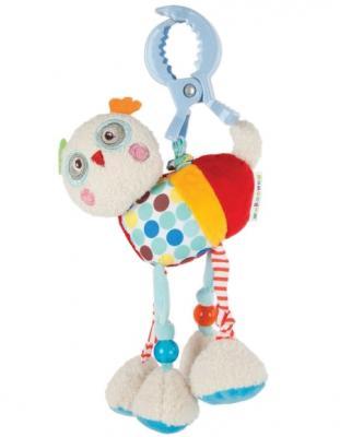 Развивающая игрушка Жирафики Подвеска с вибрацией Совёнок Бонни 939370 развивающая игрушка жирафики подвеска с колокольчиком львенок леси