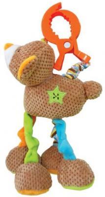 Интерактивная игрушка Жирафики Мишка Вилли от 1 месяца развивающая игрушка жирафики подвеска с погремушкой зеркальцем и мягкой игрушкой мишка вилли