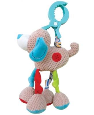 Развивающая игрушка Жирафики Подвеска с вибрацией Собачка Билли 939345 жирафики с вибрацией песик том на крабике