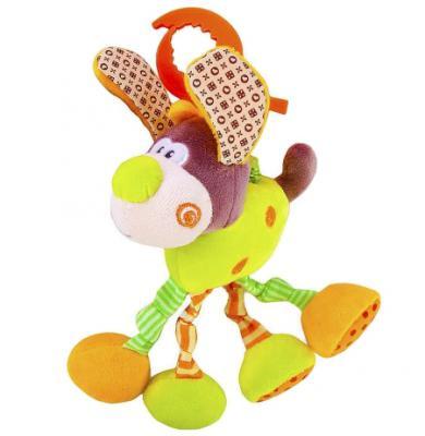 Развивающая игрушка Жирафики Подвеска с вибрацией Пёсик Том 93591 жирафики развивающая игрушка подвеска крабик звук буль буль