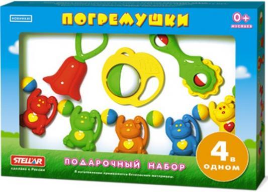 Набор погремушек СТЕЛЛАР №2  1548 музыкальные игрушки стеллар дудочка