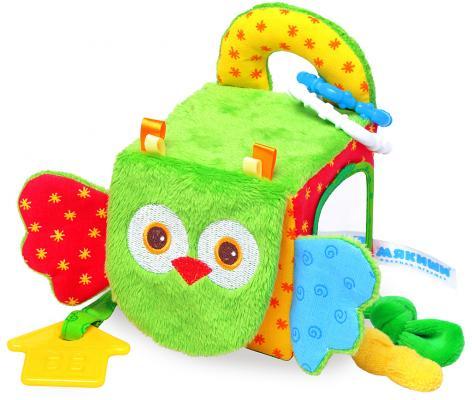 Купить Развивающая игрушка МЯКИШИ Кубик - Сова 307, Развивающие центры для малышей