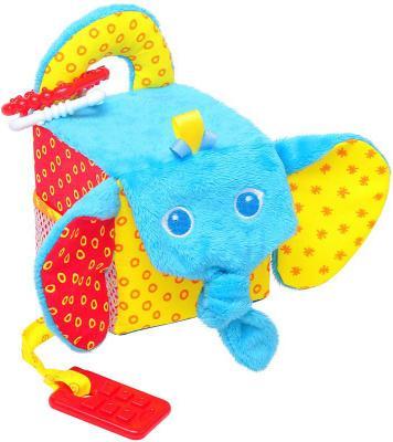 Купить Развивающая игрушка МЯКИШИ Кубик - Слон 306, Развивающие центры для малышей