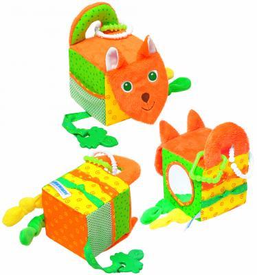 Развивающая игрушка МЯКИШИ Кубик Лиса 305