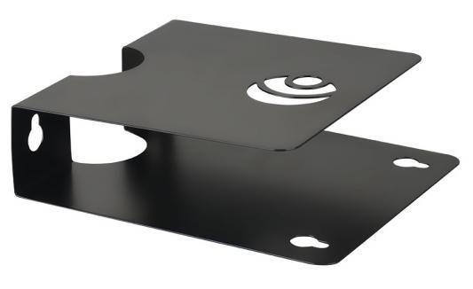 Кронштейн Kromax S-Mono черный настенный для DVD и AV до 2кг