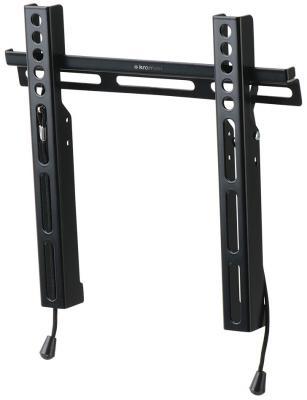 Кронштейн Kromax Vega-13 черный 15-47 настенный от стены 25мм VESA 200х200мм до 35кг кронштейн kromax vega 50 белый