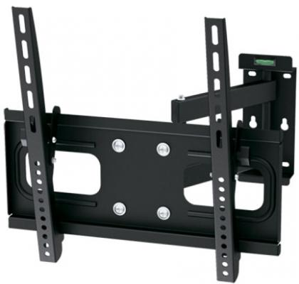 Кронштейн ARM Media PT-15 черный для LED/LCD ТВ 26-65 настенный от стены 90-445 мм VESA 400x400мм до 40кг кронштейн arm media plasma 5 до 40кг black