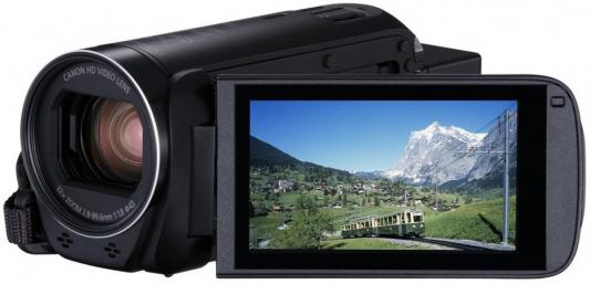 Цифровая видеокамера Canon Legria HF R86 черный цифровая видеокамера canon legria hf r706 черный 1238c003