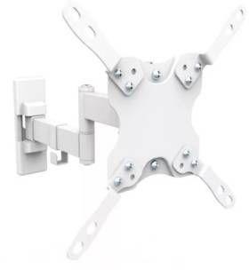 Кронштейн Ultramounts UM866w белый 13-42 настенный от стены 60-273мм VESA 200x200 до 20кг