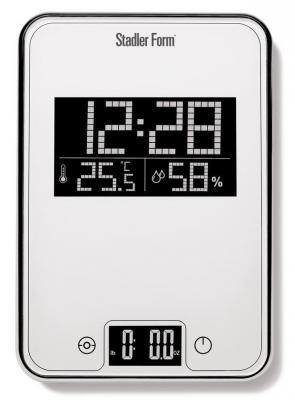 Весы кухонные Stadler Form Scale One SFL.0011 белый