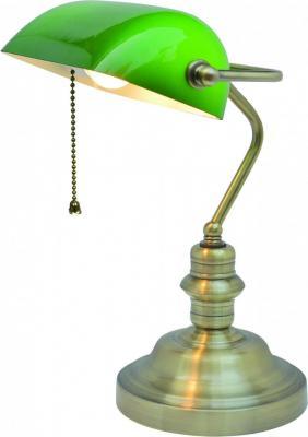 Настольная лампа Arte Lamp Banker A2492LT-1AB настольная лампа декоративная arte lamp cameroon a4581lt 1ab