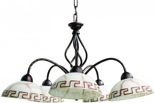 Подвесная люстра Arte Lamp Rustica A6884LM-5BR arte lamp потолочная люстра arte lamp 83 a7449pl 5br