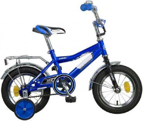 """Велосипед двухколёсный Novatrack Cosmic 12"""" синий  123COSMIC.BL7"""