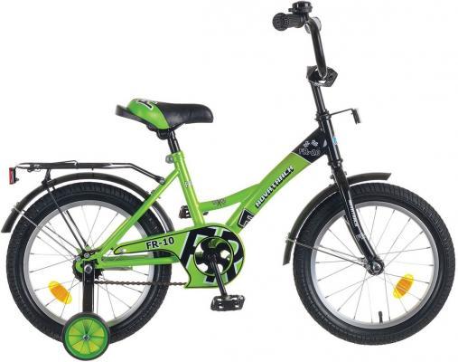 Велосипед двухколёсный Novatrack FR-10 12 зеленый  123FR10.GN5 детский велосипед novatrack fr 10 20 green
