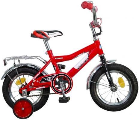 Велосипед двухколёсный Novatrack Cosmic 12 красный  123COSMIC.RD5 детский велосипед для девочек novatrack cosmic кх 50277 black purple
