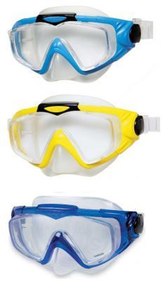 Маска для плавания Intex Аква Про в ассорт., от 14 лет 55981 intex маска для плавания бегемот лягушка intex в ассорт