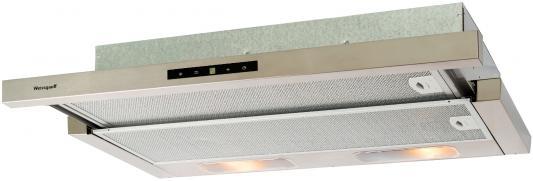 Вытяжка встраиваемая Weissgauff TEL 06 TC IX серебристый ленточная шлифмашина калибр лшм 950е 00000061902
