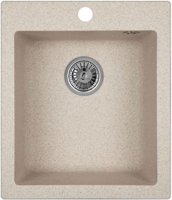 Мойка Weissgauff QUADRO 420 Eco Granit песочный