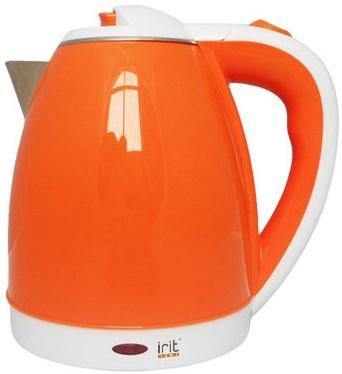 Чайник Irit IR-1233 1500 Вт оранжевый 1.8 л металл/пластик
