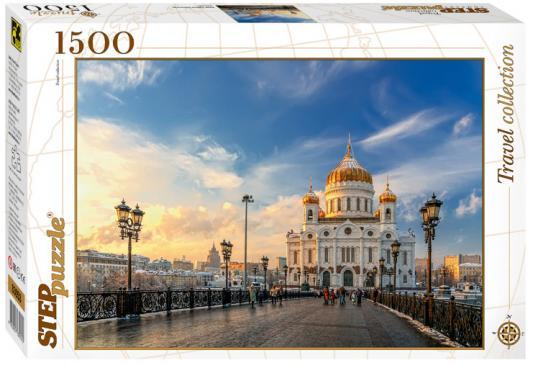 Пазл 1500 элементов Step Puzzle Храм Христа Спасителя 83053 мт 312 магнит москва храм христа спасителя