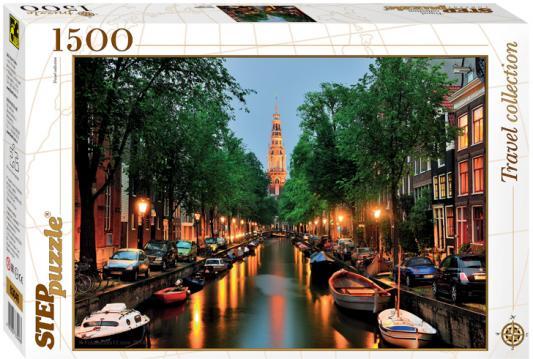 Пазл Step Puzzle Амстердам 1500 элементов 83049 пазл 1500 элементов step puzzle the hermitage поцелуй украдкой 83205