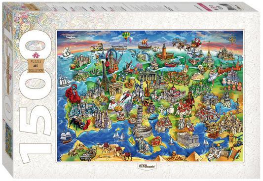 Пазл 1500 элементов Step Puzzle Достопримечательности Европы  83059 gunsafe bs968 d32 l43