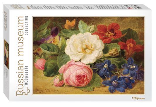 Пазл 1000 элементов Step Puzzle Букет цветов с улиткой 79211 пазл 73 5 x 48 8 1000 элементов printio сад земных наслаждений