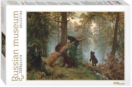 Пазл Step Puzzle Утро в сосновом лесу 1000 элементов 79218 puzzle 1000 канал в венеции мгк1000 6494