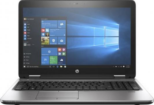 Ноутбук HP ProBook 650 G3 15.6 1920x1080 Intel Core i5-7200U Z2W47EA ноутбук hp probook 650 g3 z2w47ea core i5 7200u 8gb 1tb 15 6 fullhd dvd win10pro