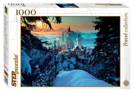 Пазл Step Puzzle Бавария. Замок Нойшванштайн 1000 элементов 79103 пазл пагода step puzzle 1000 деталей