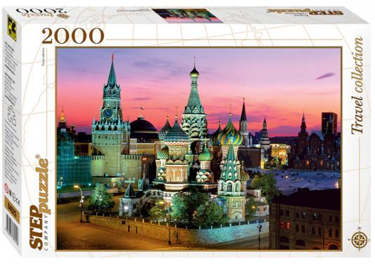 Пазл 2000 элементов Step Puzzle Travel Collection - Собор Василия Блаженного  84025 puzzle 2000 рододендроны adamus 29662
