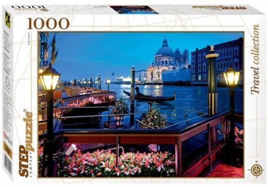 Пазл Step Puzzle Италия, Венеция 1000 элементов пазл 1000 элементов step puzzle дети с попугаем 79213