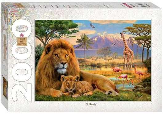 Пазл 2000 элементов Step Puzzle Art Collection - Лев 84028 puzzle 2000 замок ужаса loup 26127
