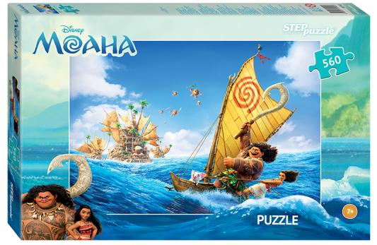 Пазл 560 элементов Step Puzzle Моана 97045 пазл 3d 60 элементов step puzzle disney винни пух 98108