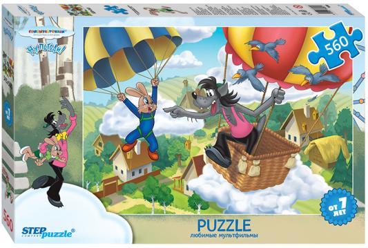 Пазл 560 элементов Step Puzzle Ну, погоди! 78089 пазл step puzzle развивающие паззлы союзмультфильм путешествие в мир добра в асс 76064