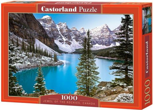 Пазл 1000 элементов Кастор Озеро, Канада