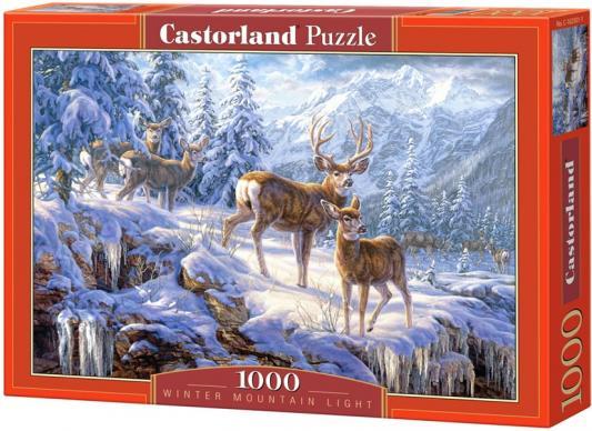 Пазл Кастор Зимние горы 1000 элементов C-102501