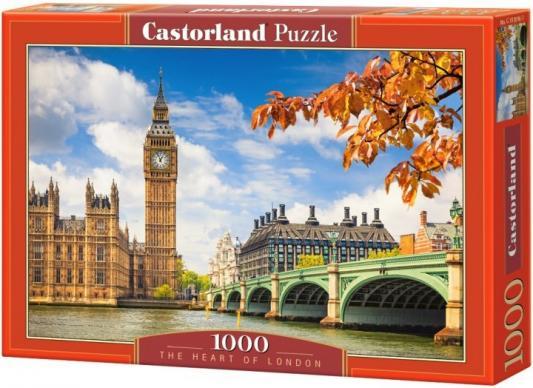 Пазл Кастор Сердце Лондона 1000 элементов С-103096 пазл кастор озеро канада 1000 элементов