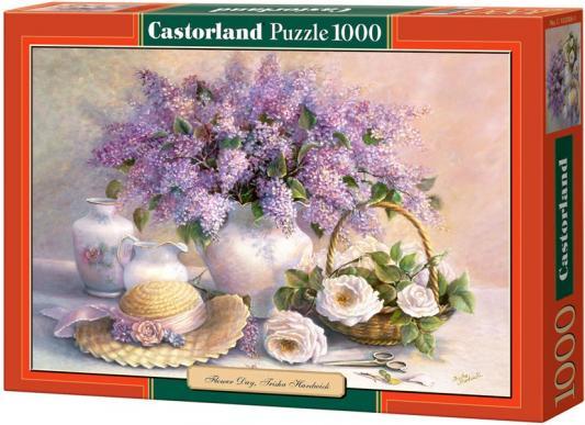 Пазл 1000 элементов Кастор Цветы, живопись