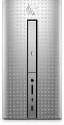 Системный блок HP Pavilion 570 570-p031ur i3-7100 3.9GHz 8Gb 1Tb GTX950-2Gb DVD-RW Win10 клавиатура мышь серебристый 1GS89EA free shipping ems 48 4st10 031 681999 001 laptop motherboard for hp pavilion dv7 notebook pc