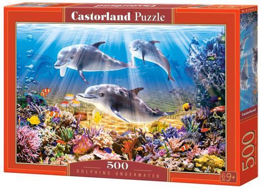 Купить Пазл 500 элементов Кастор Дельфины B-51014, Пазлы-картины