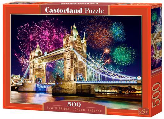 Пазл 500 элементов Кастор Тауэрский мост. Англия B-52028 пазл 55 элементов кастор времена года